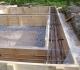 Строим баню из клееного бруса: фундамент и стены
