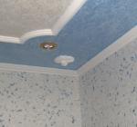 Полистироловые потолки