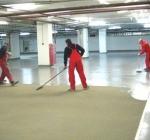 Наливные полимерные полы: обеспыливающая пропитка бетона