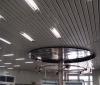 Реечные металлические потолки