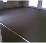 Выравнивающие стяжки из легкого бетона