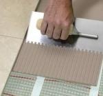 Выбор клея для напольной плитки