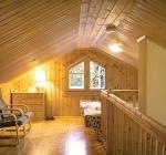 Обшивка стен в помещении деревянной вагонкой