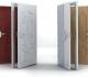 Виды отделки стальных дверей