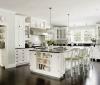 Декорируем кухню, выполненную в белых тонах