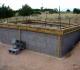 Укладка фундамента для садового домика