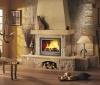 Комфорт и уют в доме с настоящим огнем