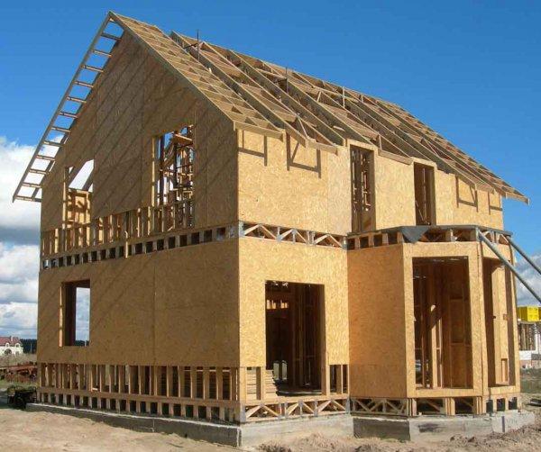 Каркасно-панельное домостроение