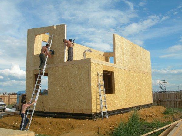 Каркасно-панельное домостроение: преимущества