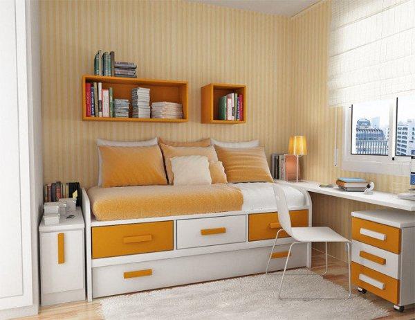 Как выбрать кровать для маленькой спальни?