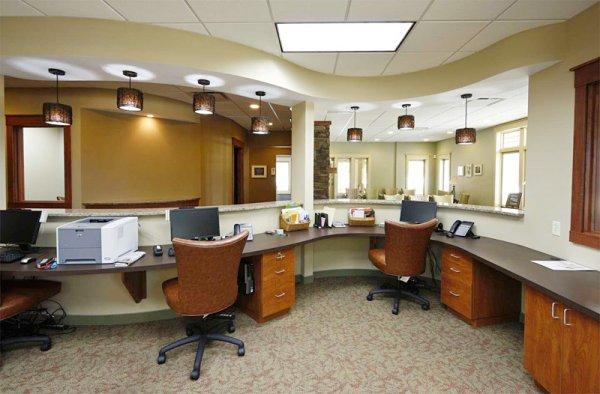 Идеальный офис: перегородки и цветовая гамма