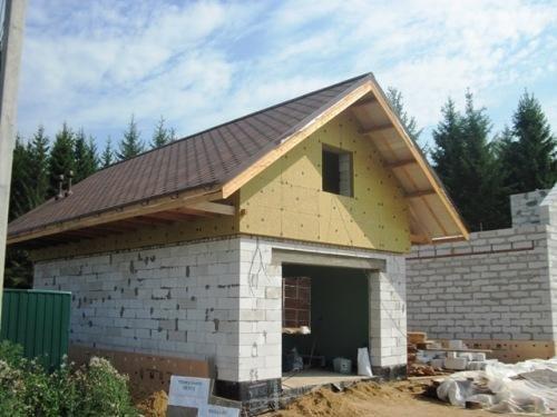 Особенности постройки гаража