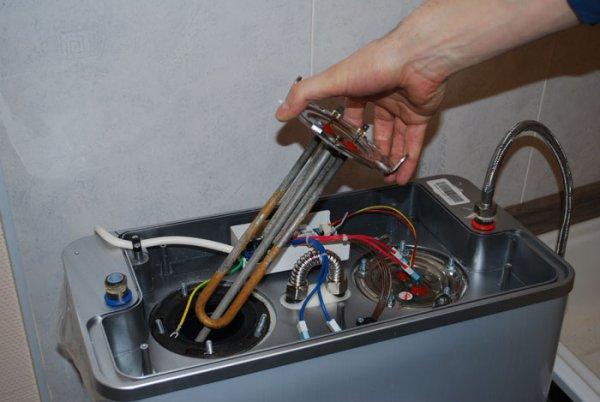 Типы защиты от коррозии внутренней полости электрического бойлера